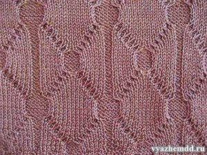 Diamonds and Circles Knitting Stitch