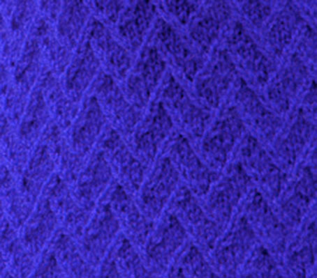 Lattice Knit Stitch Pattern