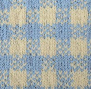 Plaid Fair Isle Knitting Stitch