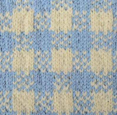 Plaid Fair Isle Knitting Stitch - Knitting Kingdom