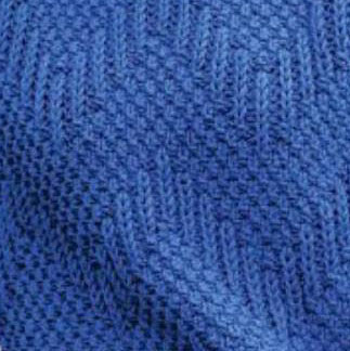Ribbed Knit and Purl Chevron Stitch