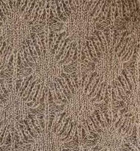 Spiders and Diamonds Lace Knit Stitch Chart