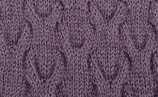 U Shaped Cable Knitting Stitch