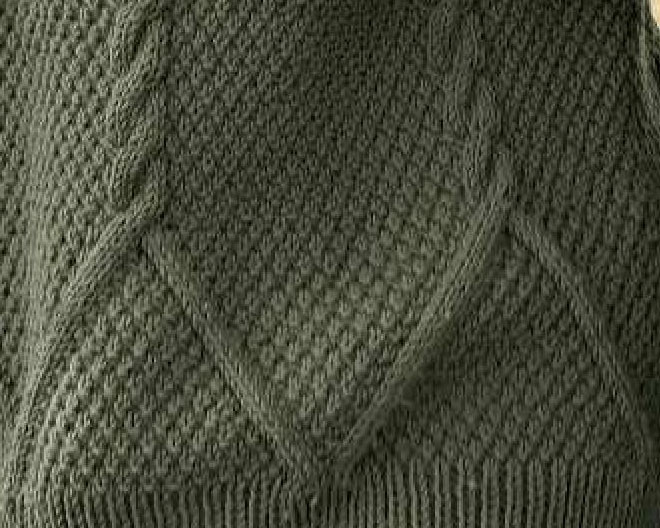 Upside Down V Into A Cable Knit Stitch Chart Knitting
