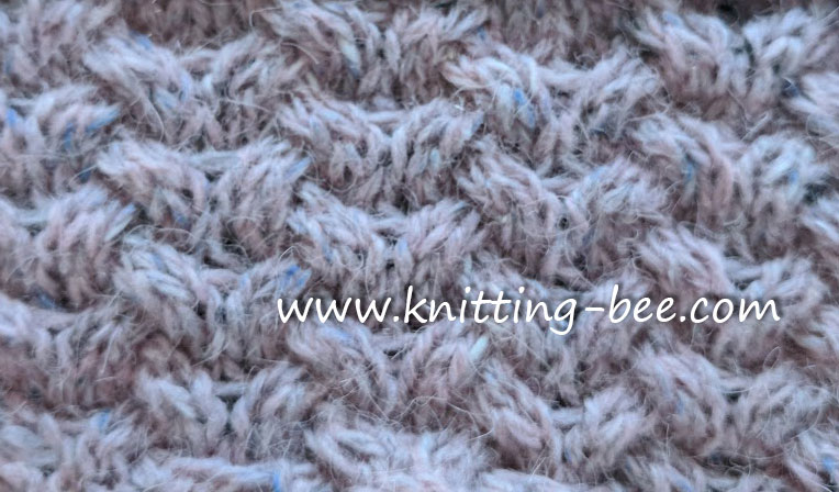 Knitting Horseshoe Lace Stitch Pattern : Horseshoe Cable Knit Stitch - Knitting Kingdom