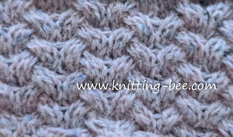 Horseshoe Cable Knit Stitch Knitting Kingdom