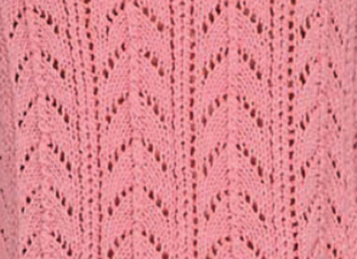 Arched Lace Knitting Stitch Idea and Chart