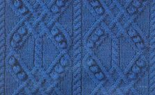 Cable and Bobble Crosses Knitting Stitch