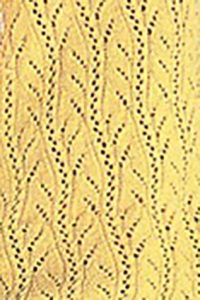 Lace Vertical Knitting Stitch