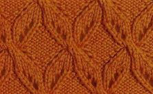 X Lace Free Knit Stitch