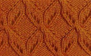 X Lace Free Knit Stitch