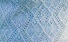 Argyle Diamond Lace and Bobbles Knitting Stitch