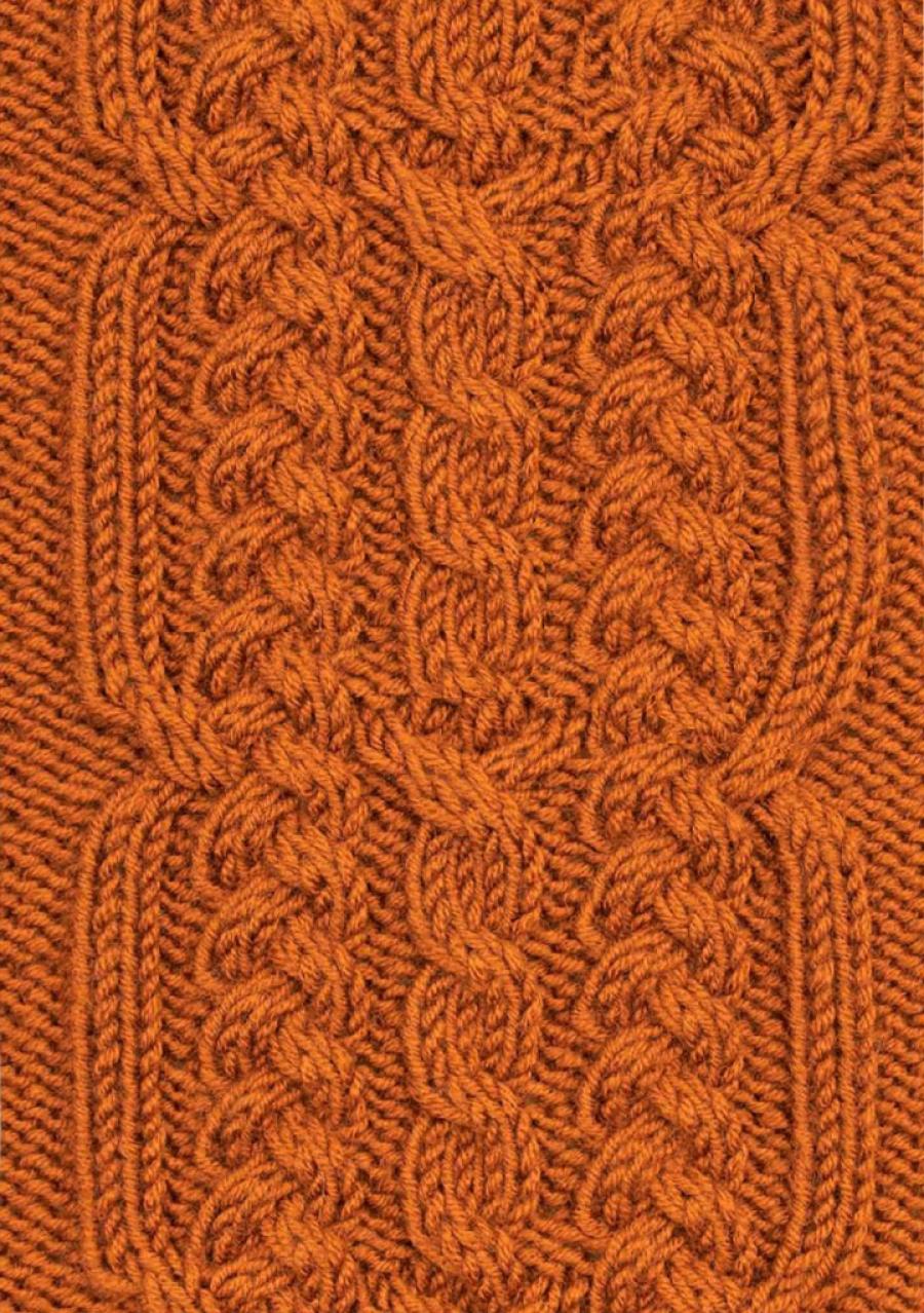 Braid and Cable Panel Free Knit Stitch - Knitting Kingdom