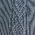 Intricate Cable Knit Stitch
