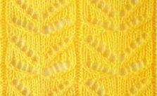 Lace Butterfly Knit Stitch Chart