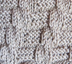 Steps Knit Purl Stitch