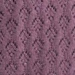 Strings of Diamonds Lace Knit Stitch