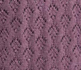 Strings of Diamonds Lace Knit Stitch