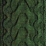 Upside Down Cable Knitting Pattern Stitch Free