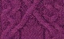 Cable Panel Knitting Stitch