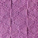Diamond Knit Purl Stitch