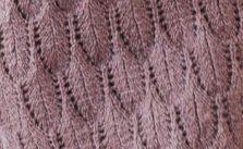 Feather Lace Knit Stitch Free