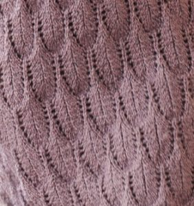 Feather Lace Knit Stitch Free