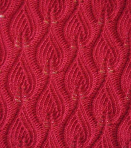 Knit And Stitch Show Belfast 2017 : Flames Knitting Stitch - Knitting Kingdom