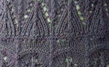 Free Lace Knitting Stitch