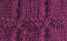 Garter Blocks Knitting Stitch