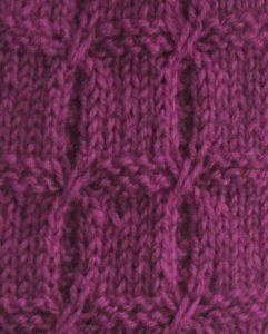 Garter Blocks Knitting Stitch