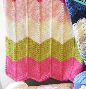 Chevron Stitch Knitting Pattern
