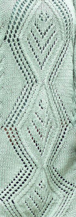 Tag Free Diamond Lace Knitting Stitch Knitting Kingdom
