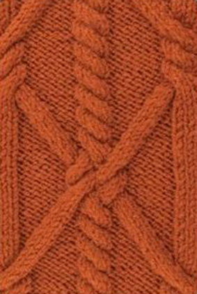 Rope Cable Knitting Stitch