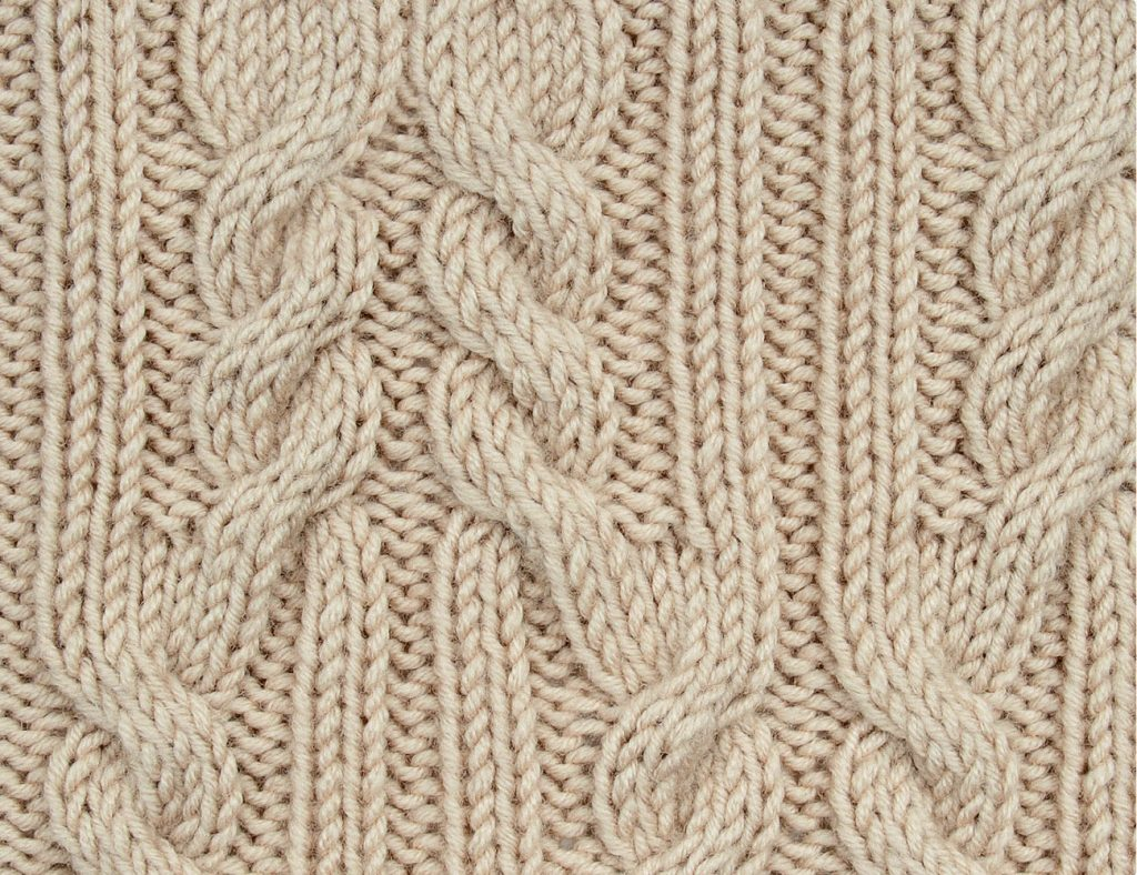 Ropes and Cables Knit Stitch