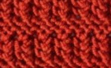 Eyelet Garter Stripe Free Knitting Stitch