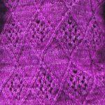 Lattice and Lace Knitting Stitch