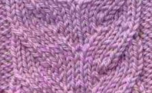 Mock Horseshoe Cable Knitting Stitch