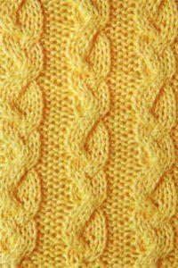 Odd Braids Knitting Stitch