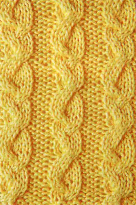 Odd Braids Knitting Stitch