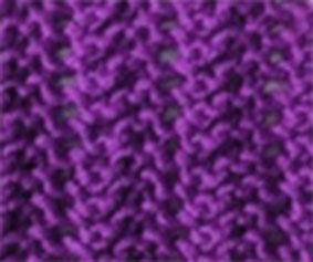 Vertical Eyelet Knitting Stitch