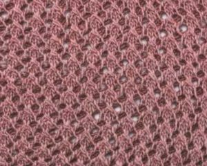Eyelet Knitting Stitch