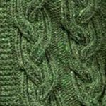 Ribbed Plait Cable Knitting Stitch