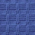 Tile Stitch Knitting Pattern