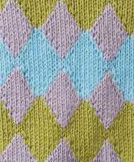 Intarsia Argyle Knitting Stitch