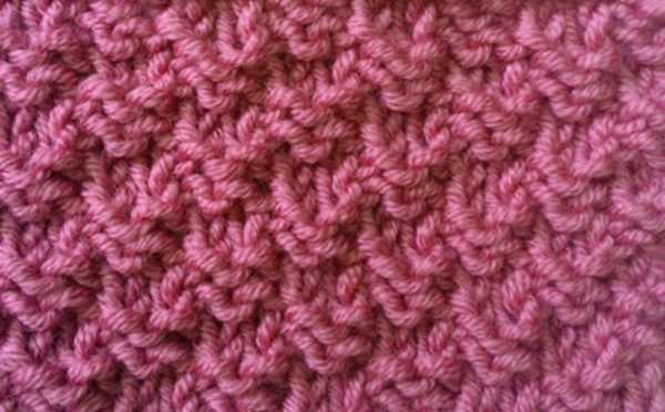 Free Alternate 2x2 Rib Knitting Stitch