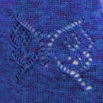 Lace Butterfly Panel Knitting