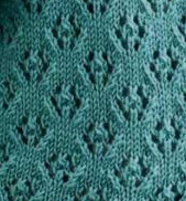 Lace Disc Free Knitting Stitch