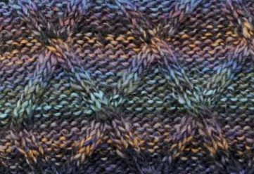 Trellis Cable Knitting Stitch