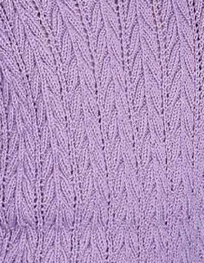 Arrowhead Lace Rib Stitch